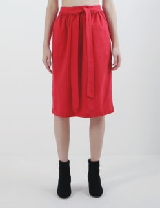 Calla The Label Red Skirt