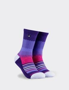 Staycool Magenta Knit Sock
