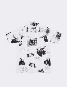 Steeze.Ltd White Wallace Shirt