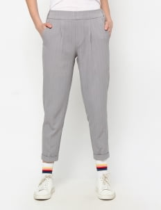 Binca Gray Glimmer Pants