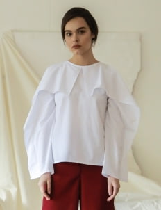 Commonwear White Ellery Cold Shoulder Top