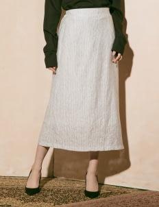 ATS THE LABEL Gray Yenna Skirt
