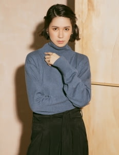 ATS THE LABEL Navy Dael Sweater