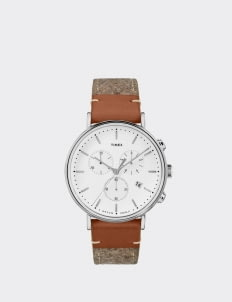TIMEX Tan & Brown TW2R62000 watches