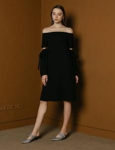 M By Mischa Black Vesey Dress