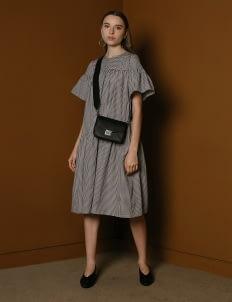 M By Mischa Gingham Seymour Dress