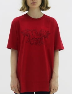 Naturalborn Red Clash T-Shirt
