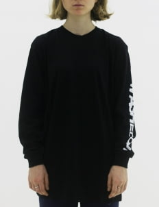 Naturalborn Black Washed out Longsleeve T-shirt