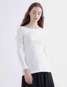 Day and Night White Egi Sweater