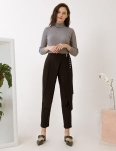 Label Eight Black Yara Pants