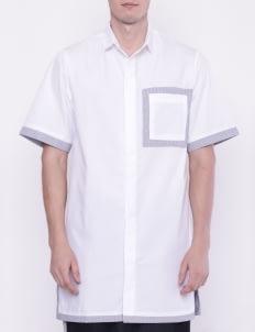 KOMMA White Blau Long Shirt