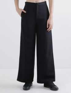Aesthetic Pleasure Black Straight Pants