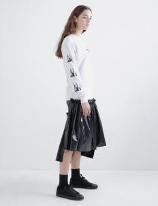 Aesthetic Pleasure Black Lucretia Skirts