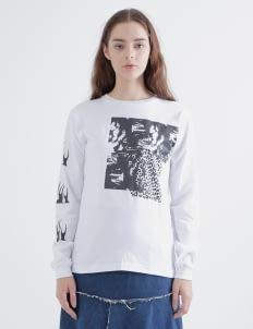 Aesthetic Pleasure White Vision Long Sleeve T-Shirt