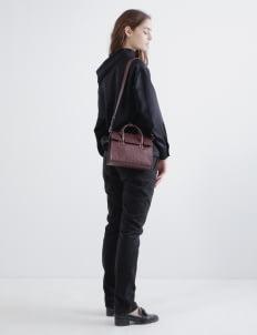 Aesthetic Pleasure Maroon Mini Isolation Bag