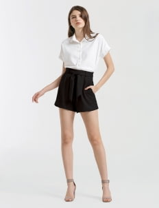 CLOTH INC Black Louise Shorts