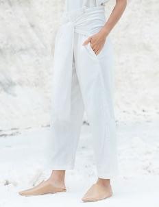 Tees and Scissors White Corduroy Y Pants