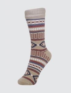 Pattent Goods Khaki Anemie Socks