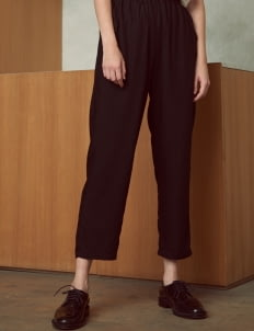 Shopatvelvet Black Memorandum Pants