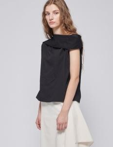Shopatvelvet PT-028 Black Top