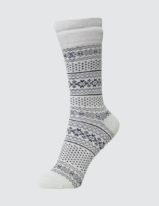 Pattent Goods White Luna Socks
