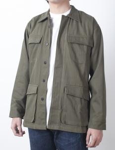 QUTN Olive Canvas Field Jacket II