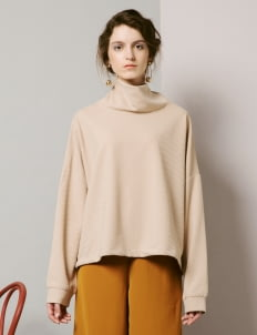 ATS THE LABEL Crème Nelda Sweater