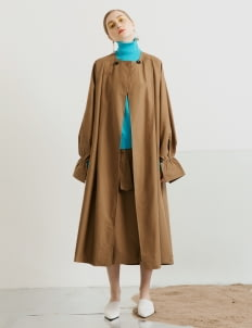 ATS THE LABEL Brown Patty Outerwear