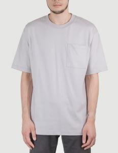 Heim Pale Blue Basic Boxy Tshirt