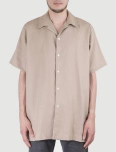 Heim Brown Khaki Easy Linen Shirt