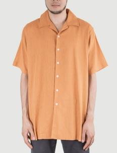 Heim Mustard Easy Linen Shirt