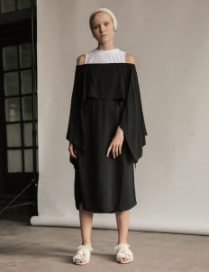 Eesome Black Salma Dress