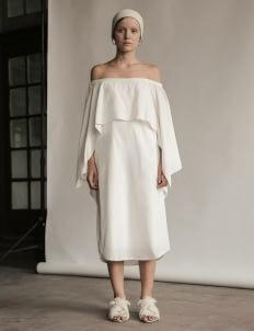 Eesome Cream Salma Dress