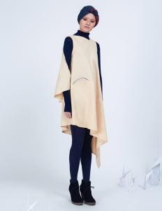 Amanda Rahardjo Cream Arcane Dress
