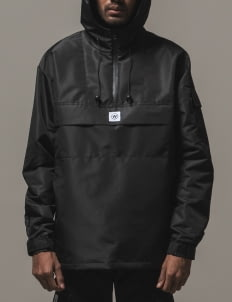 Working Age Black ANRK-ST-01 Anorak Jacket
