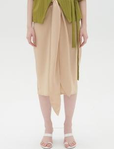 Shopatvelvet Beige Morocco Skirt