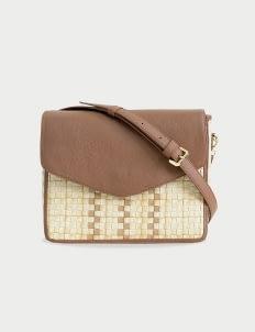 Chameo Couture Caramel Quinn Sling Bag