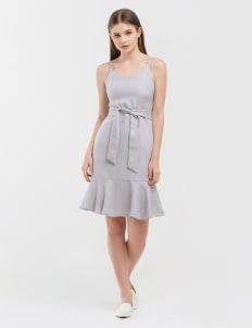 CLOTH INC Blue Jemma Dress