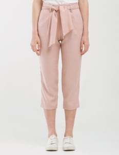 CLOTH INC Rose Tied Piper Pants