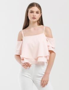 CLOTH INC Rose Cara Off-Shoulder Top