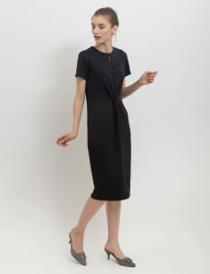 Posh The Label Black Salma Twisted Dress
