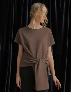 Avgal Collection Brown Odysee Top