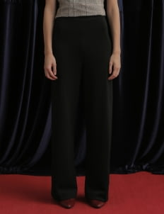 Avgal Collection Black Finn Long Pants