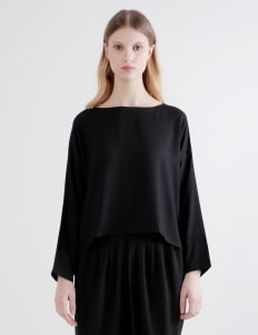 Shopatvelvet Black Meter Top