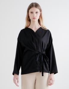 Shopatvelvet Black Mili Top