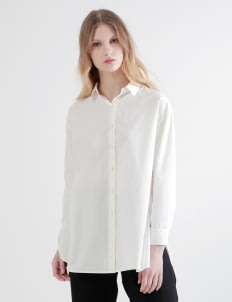 Shopatvelvet White Sweden Two Way Shirt