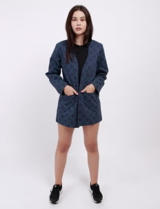 Monstore Navy Blue WTF Type Outer