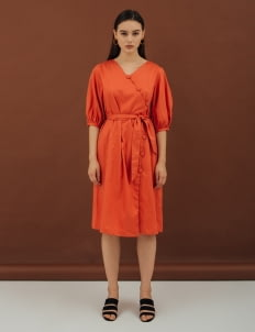 NANNA Orange Eternal Dress