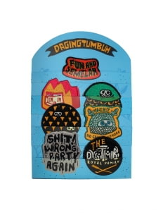 DGTMB by Eko Nugroho Multicolor DGTMB Paket Blue Emblem Patch