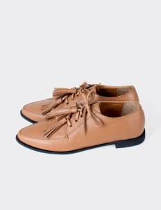 Aschas Cocoa Brown Aeogon Oxford Shoes
